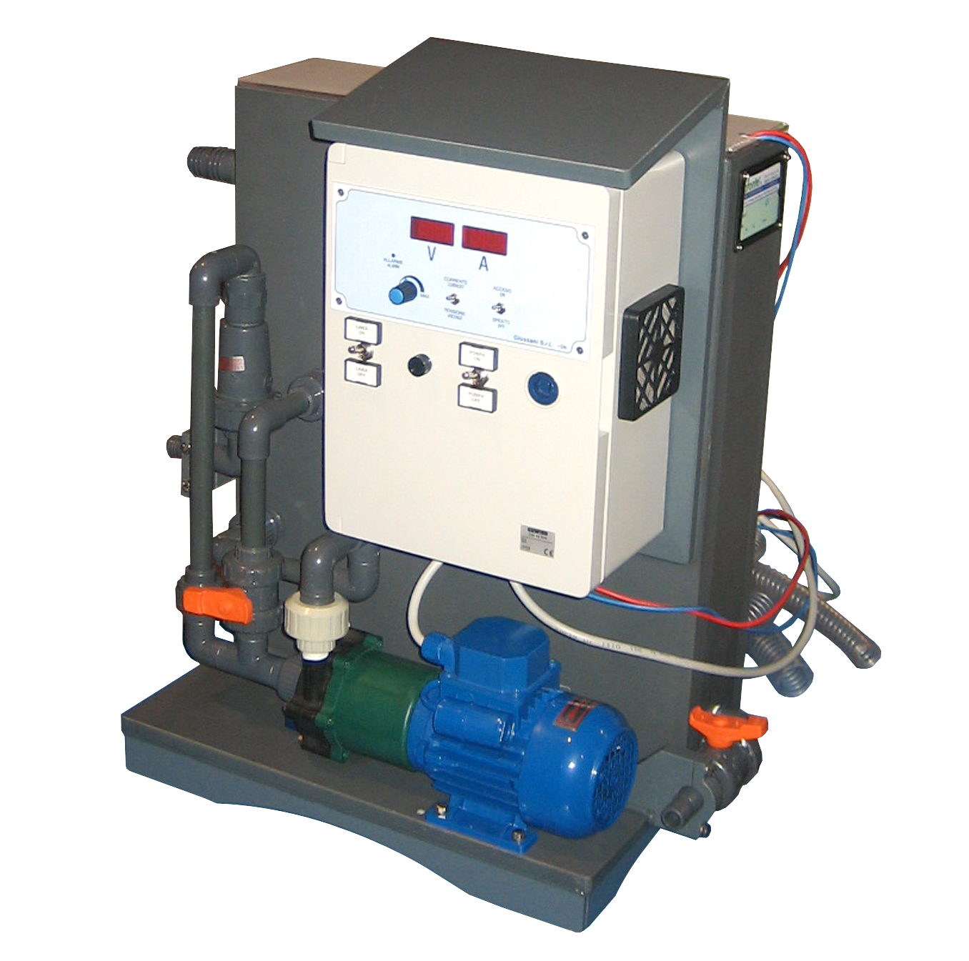 CHEMAG™ Precious Metal (Electrolytic) Recovery Systems by